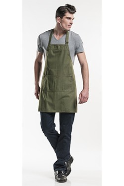 Base Green Denim Schort