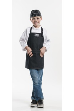 Kids Schort Black Denim