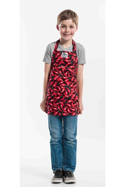 Kids Schort Chili Pepper