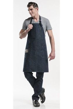 Multipocket Blue Denim Schort